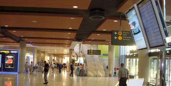 Ларнака, международный аэропорт Кипра