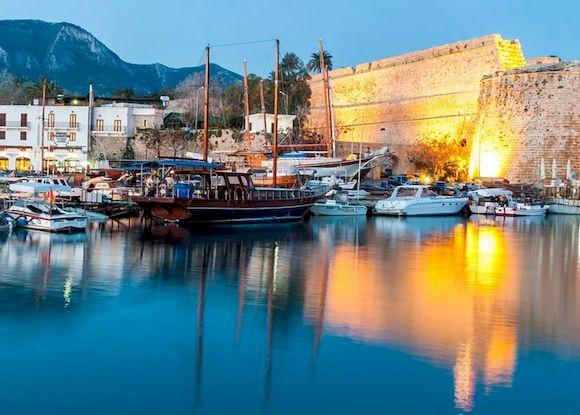 Август на Кипре, температура