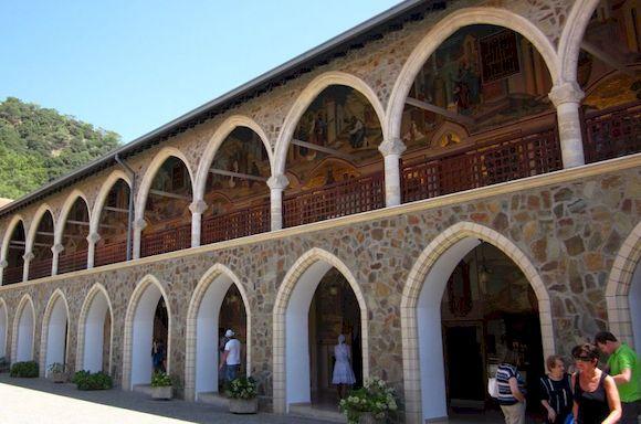 Монастырь Киккос, фото