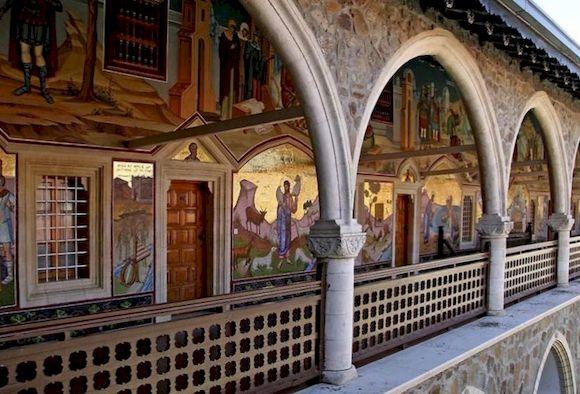 Монастырь Киккос, Кипр