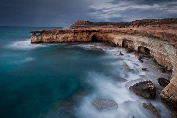 Морские пещеры в Пафосе, фото
