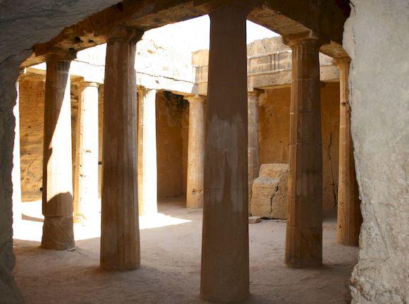 Царские гробницы, Пафосе