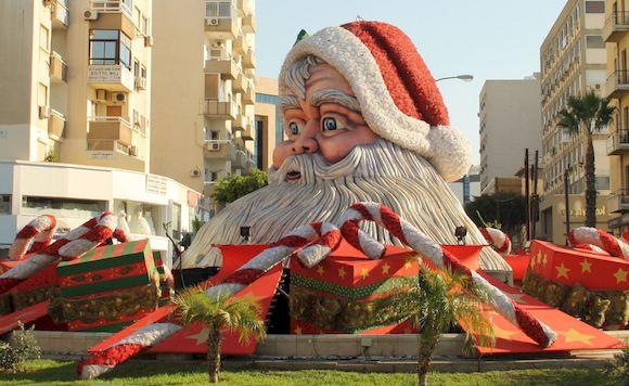 Дед Мороз на Кипре, как отметить новый год на кипре