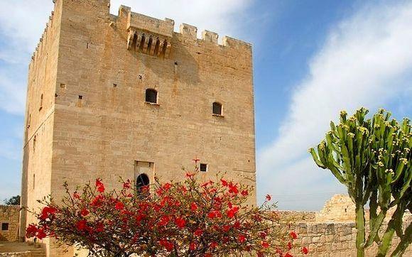 Посмотреть крепость в Лимассоле, не Кипре
