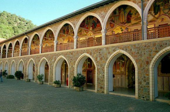 Киккос, монастырь Кипра
