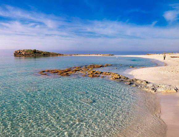 Beach Nissi, лучший пляж Кипра с белым песком