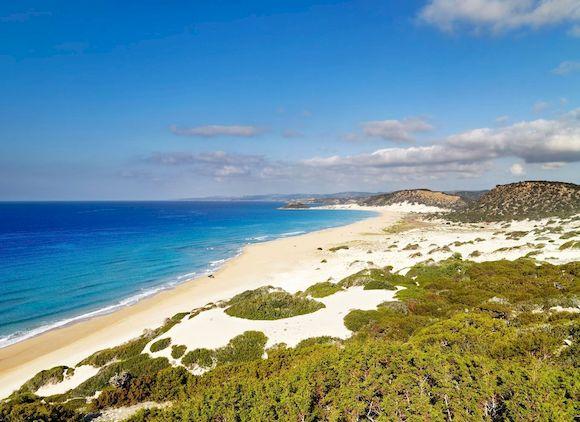 Coral Bay, пляж с белым песком на Кипре