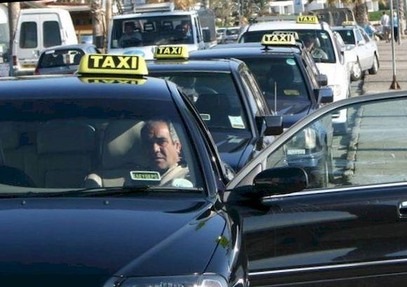 Такси на Кипре, фото