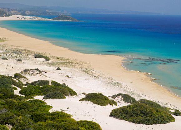 Черепаший пляж Lara Bay, куда съездить на Кипре на машине