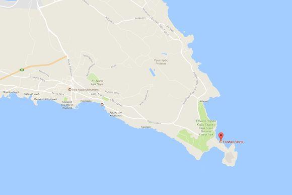 Голубая Лагуна – природное чудо Кипра