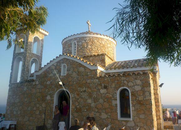 Церковь Ильи пророка, Протарас