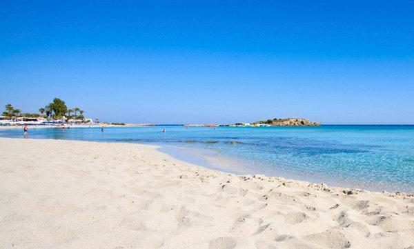 Агия Текла, пляж в Айя Напе, Кипр