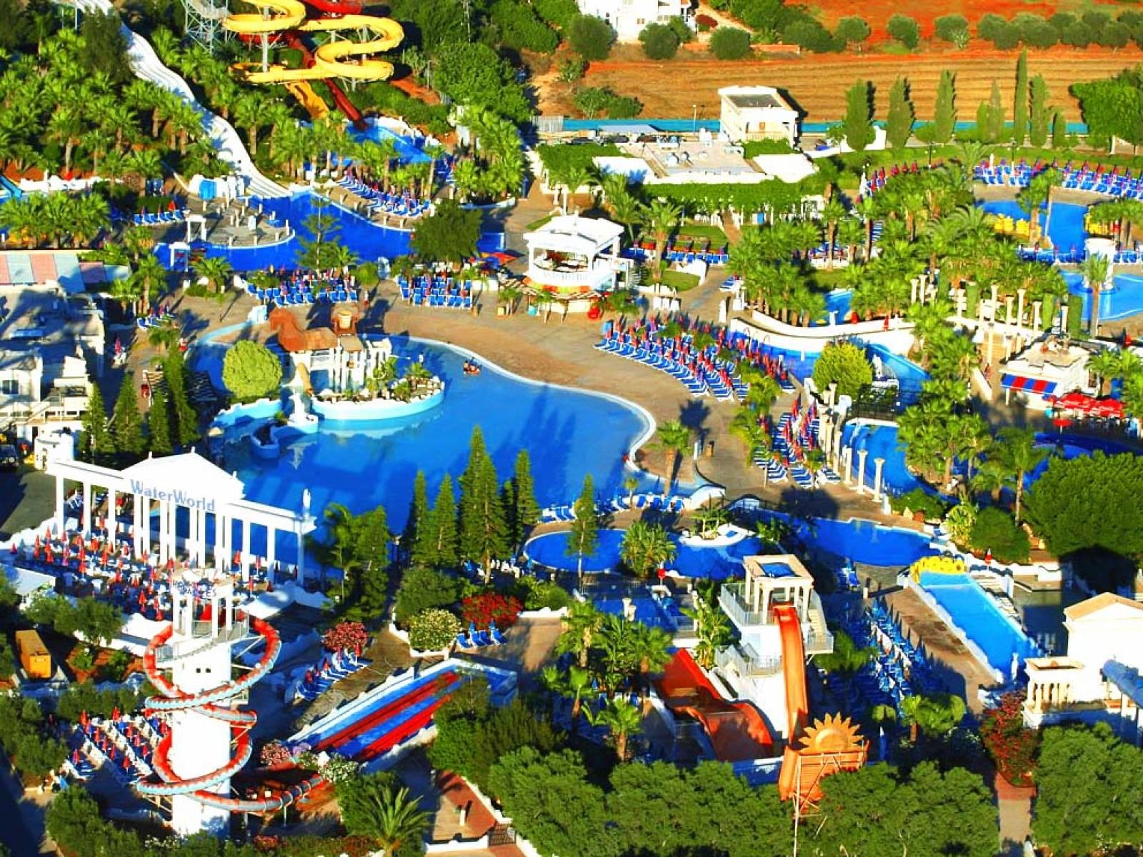 Лучшие аквапарки Кипра